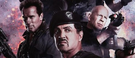 The Expendables 2 PG13 Sly Stallone BBQ