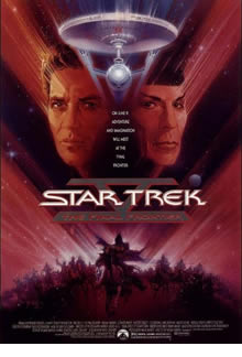 star trek 5 the final frontier