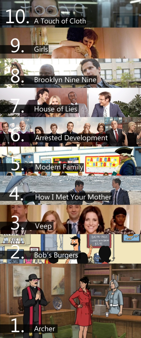 best tv show comedies 2013